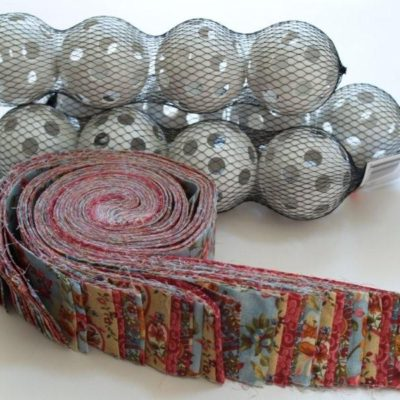 Fabric Decor Balls