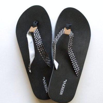 Summer Flower Flip-Flops