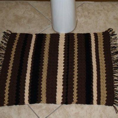 Cute Crochet Rug