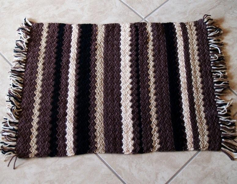 Crochet Patterns Free Rugs : crochet rug pattern free image search results