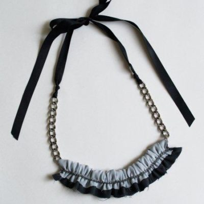 Quick Chiffon Chain Necklace