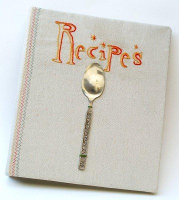 Anthropologie Inspired Recipe Book