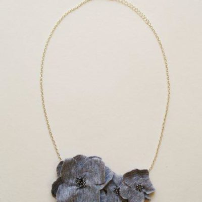 Anthro Potentilla Bib Necklace Knockoff
