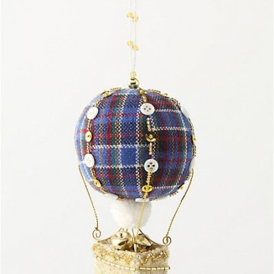 Highland Hot Air Ornament
