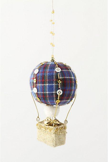 Highland Hot Air Ornament