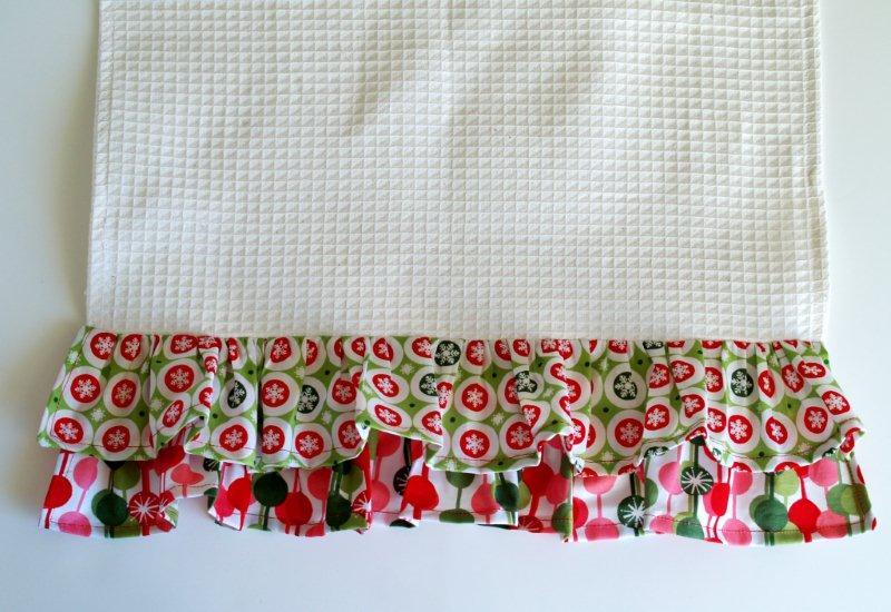Как оформить вафельное полотенце в подарок своими руками 69