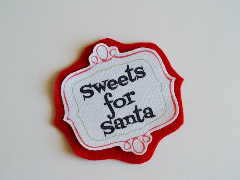 Fabric and Felt Christmas Labels