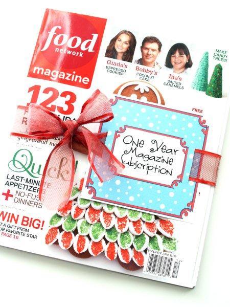 Magazine Gift Subscription Printable