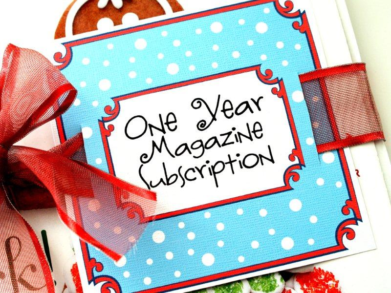 Magazine Gift Subscription Printable