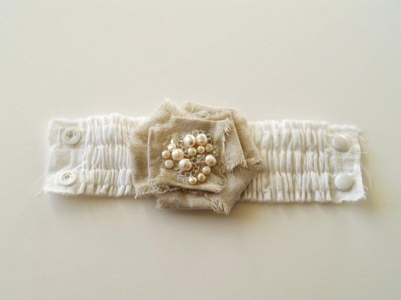 P1010698 Romantic Ruffled Bracelet
