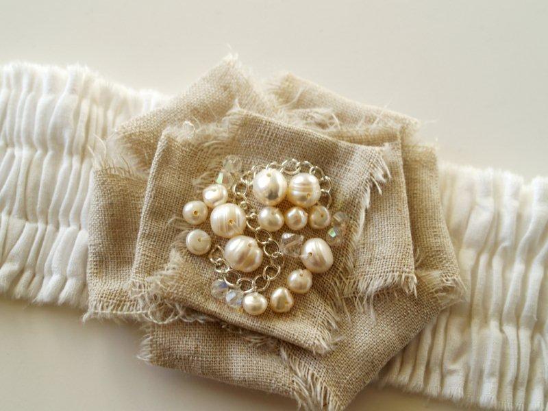P1010700 Romantic Ruffled Bracelet
