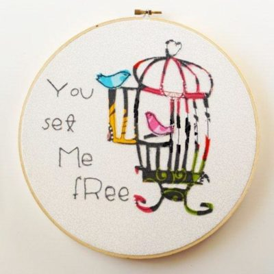 You Set Me Free – Hoop Art