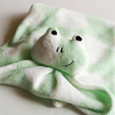 Critter Nursery Blanket Knockoff