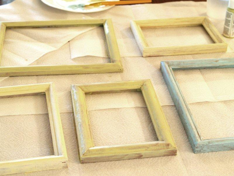Simple Painted Frames