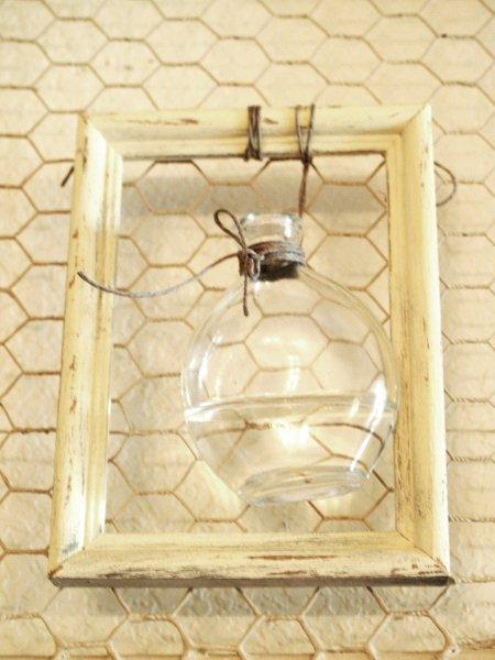 Framed Vase for Flowers