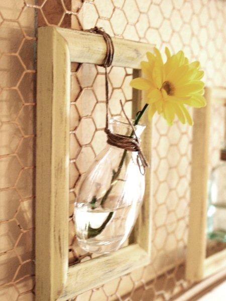 Pretty Hanging Flower Vase