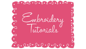 Embroidery-Tutorials