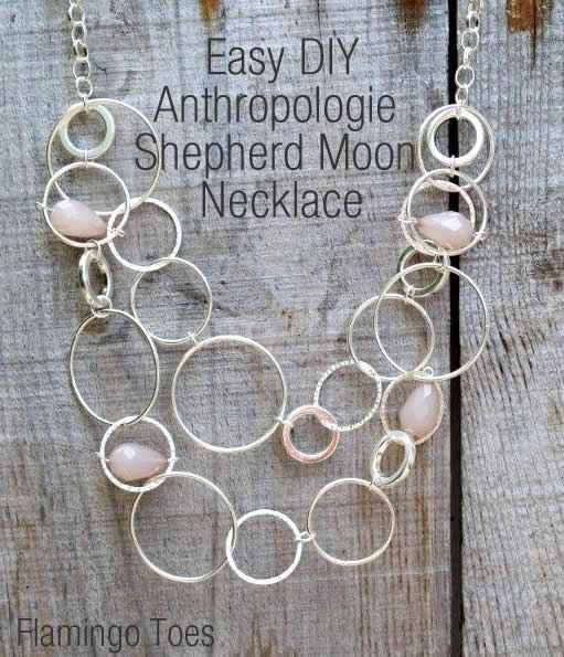 Easy DIY Anthropologie Necklace