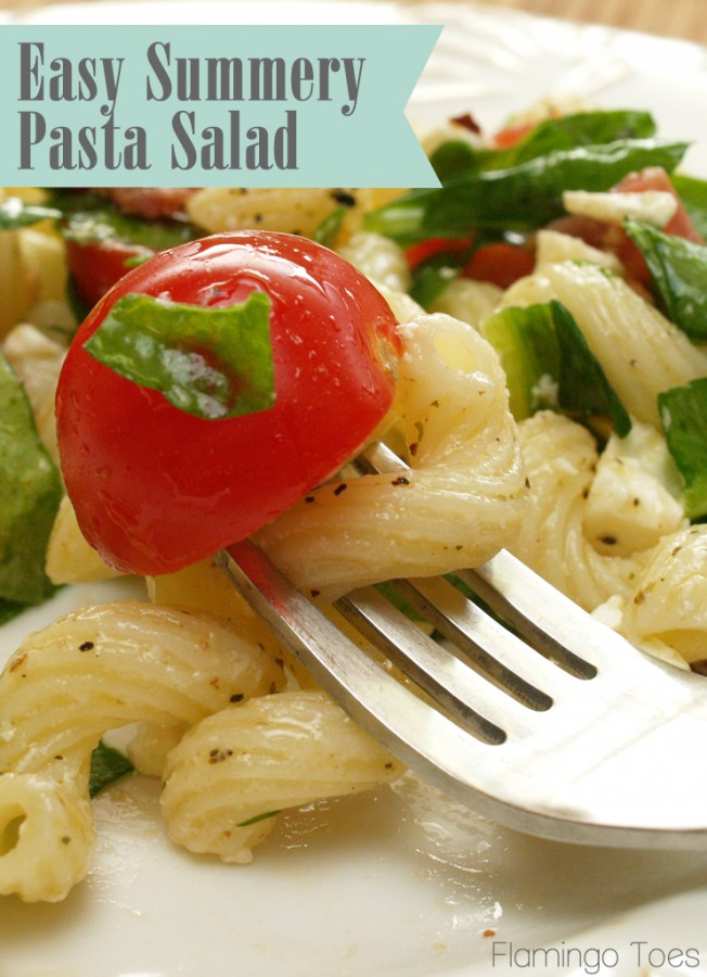 Easy Summer Y Pasta Salad Recipe