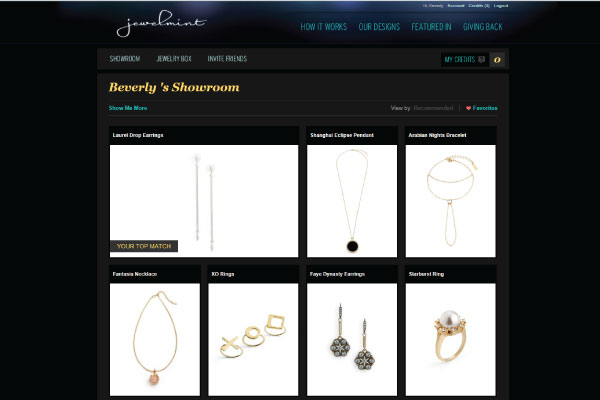 Jewelmint Showroom