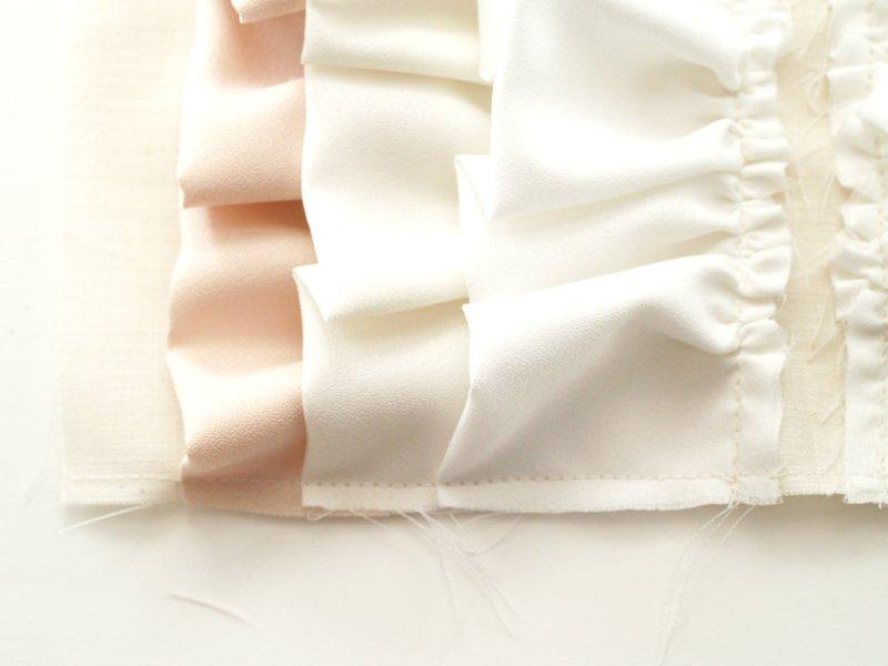 A Simple Clutch – Ruffles Version