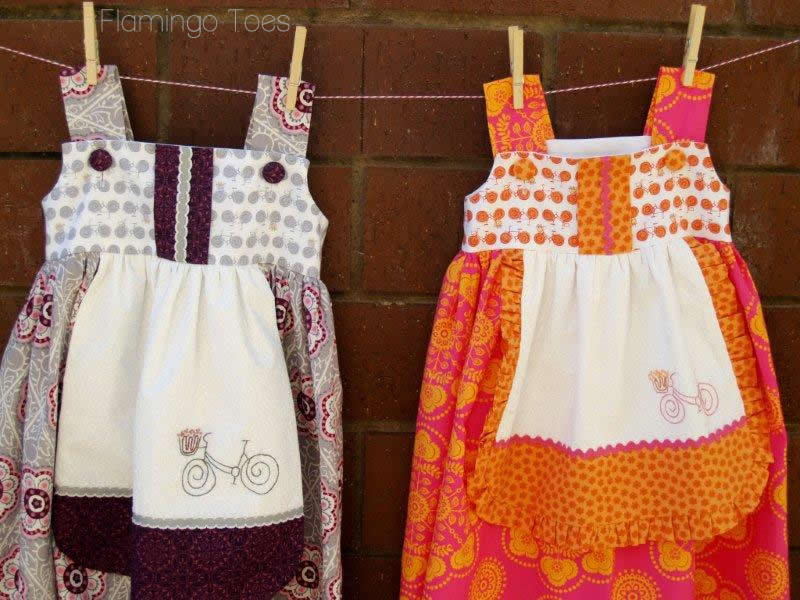 The Cottage Mama Charlotte Apron Dresses