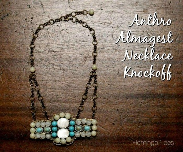 Anthro Algamest Necklace Knockoff - flamingotoes.com