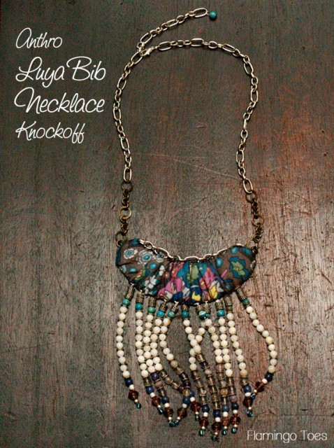 Anthro Lya Bib Necklace - flamingotoes.com