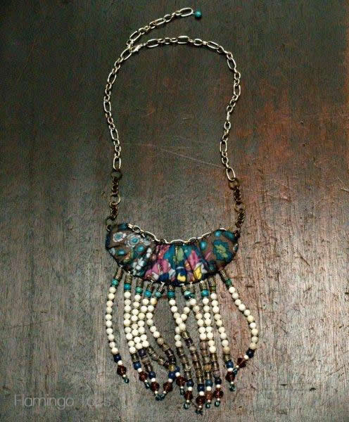 Anthro Luya Bib Necklace - flamingotoes.com