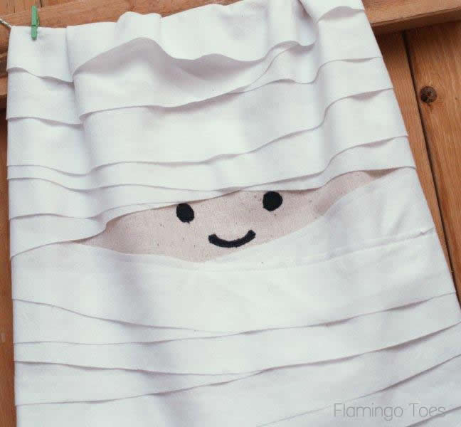 A Little Mummy Dishtowel