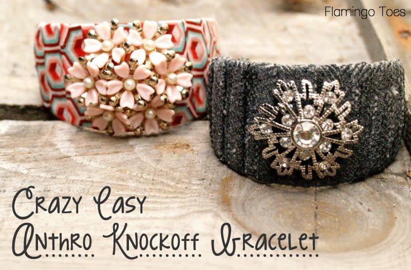 Crazy Easy Anthro Knockoff Bracelet