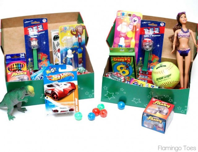 the operation christmas child website has ideas and instructions for how to pack the boxes you dont have to have these specific boxes our church provides - Operation Christmas Child Ideas