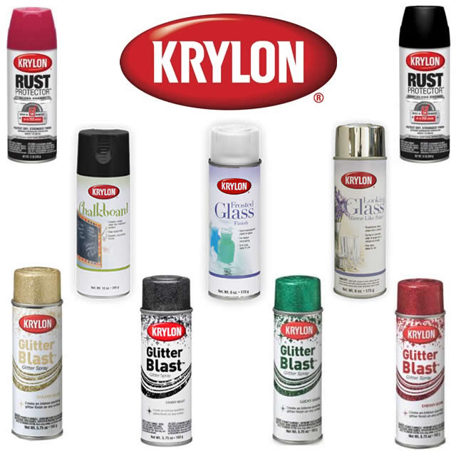Frost Spray Paint Colors