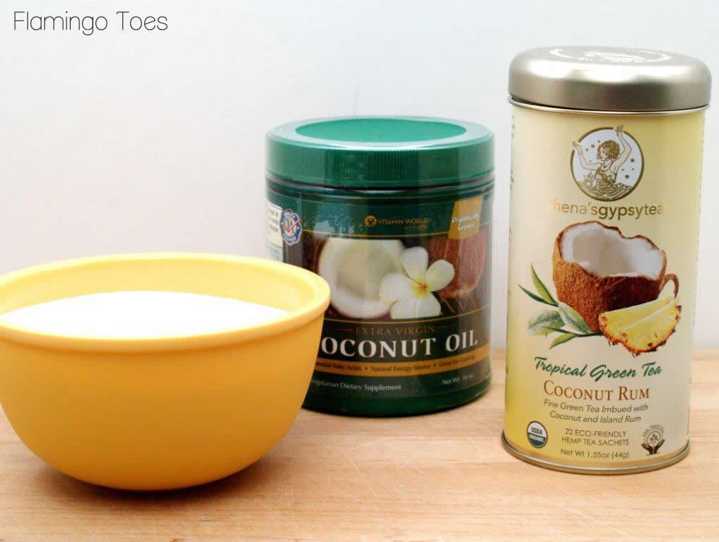 How to Make Coconut Oil Sugar Scrub