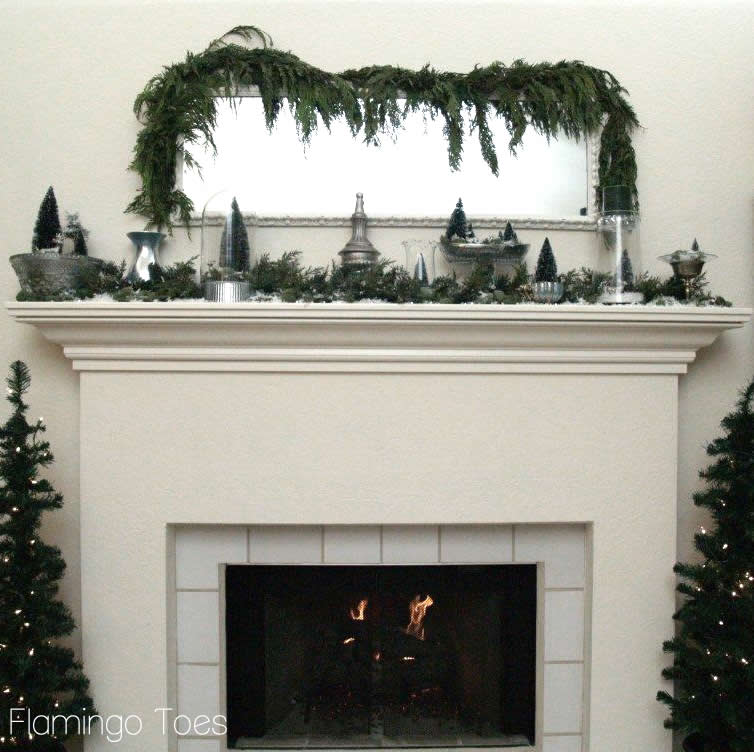 Winter Wonderland Mantel