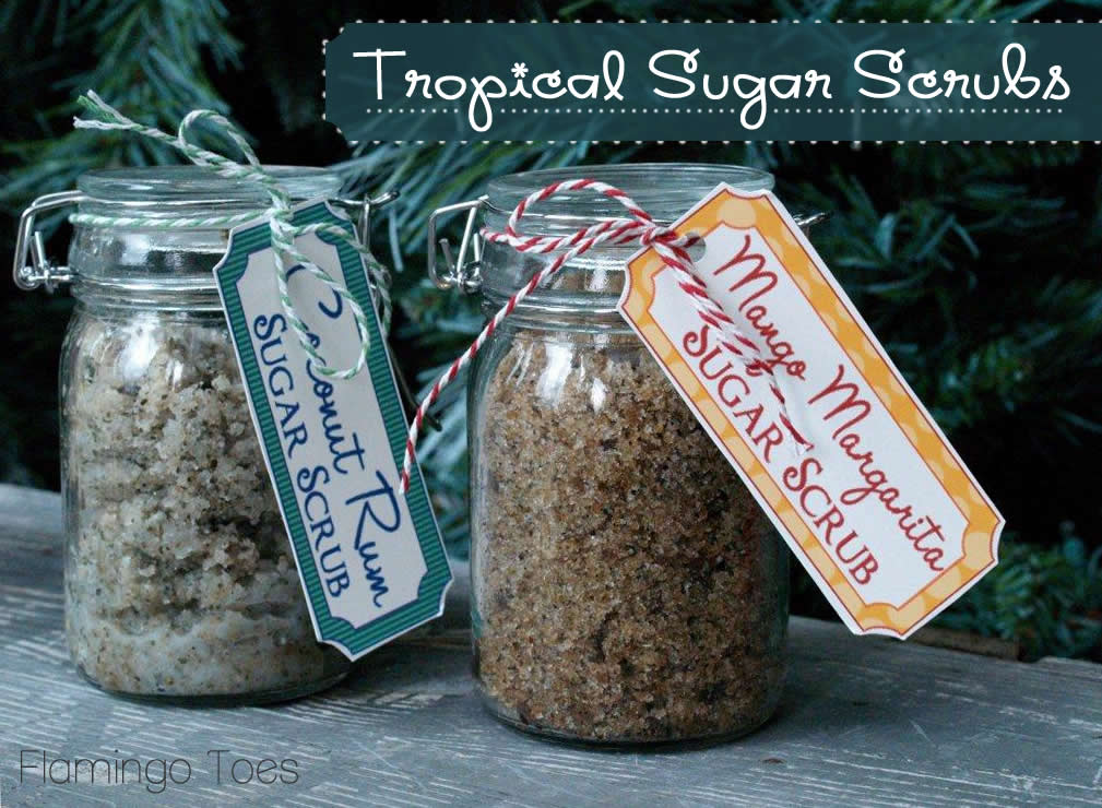 Tropical Sugar Scrub Recipes