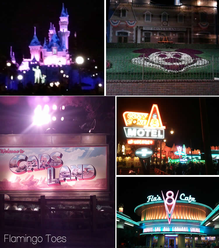 Disneyland and Cars Land