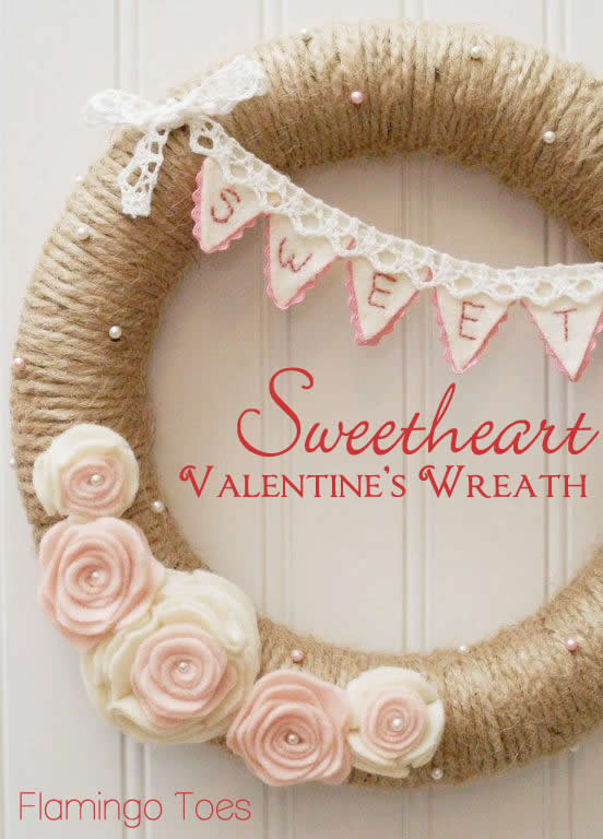Sweetheart Valentine S Day Wreath