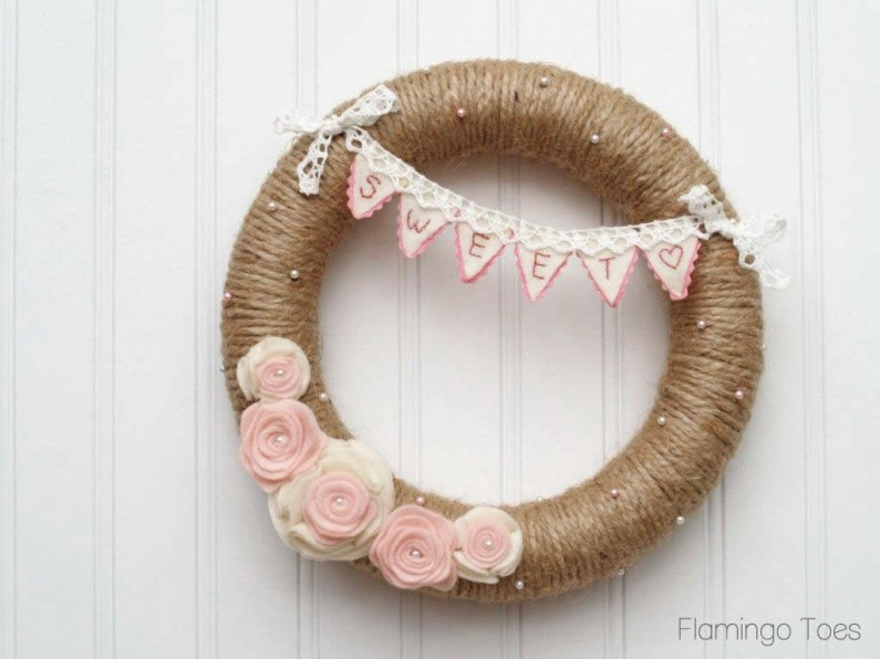 Valentines Wreath