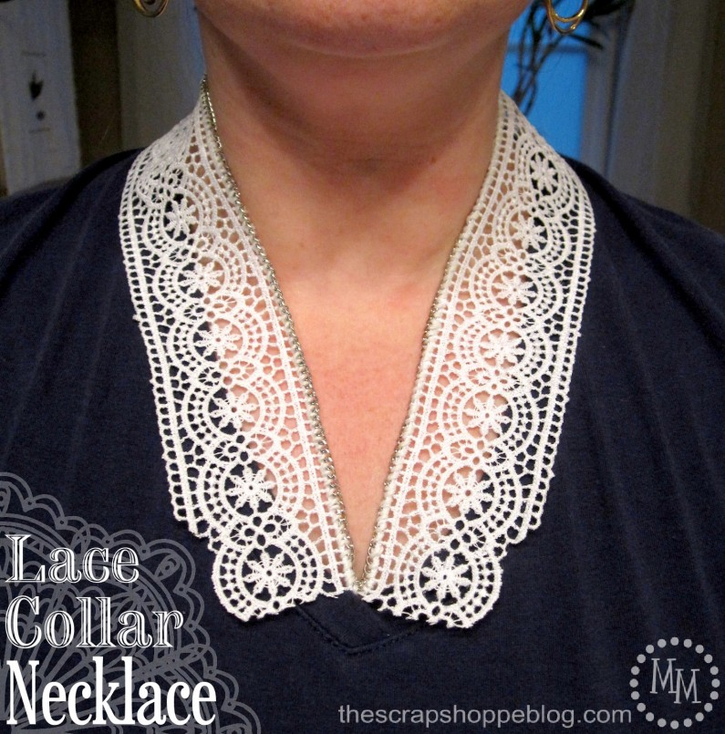 Lace Collar Necklace 1