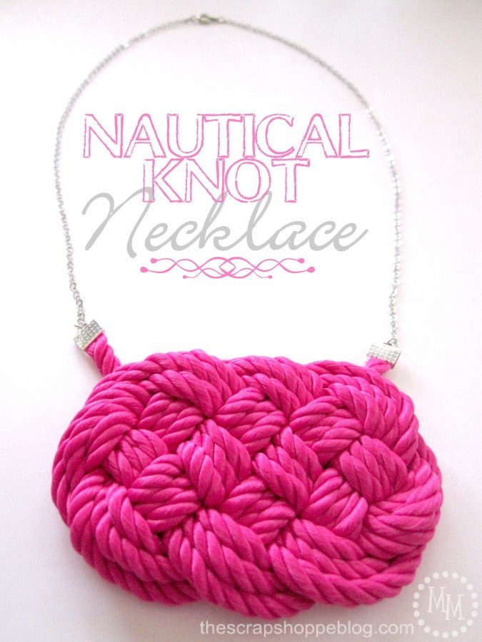 Nautical Knot Necklace 1