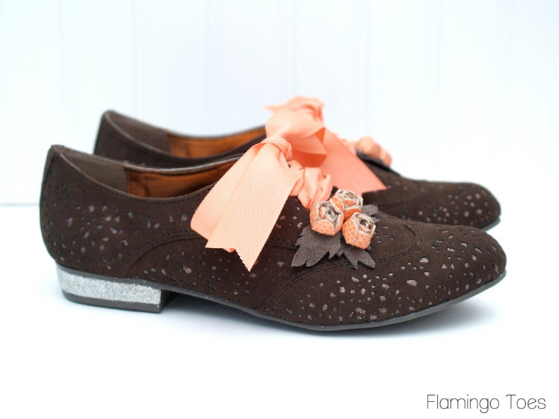 Refashioned Oxfords