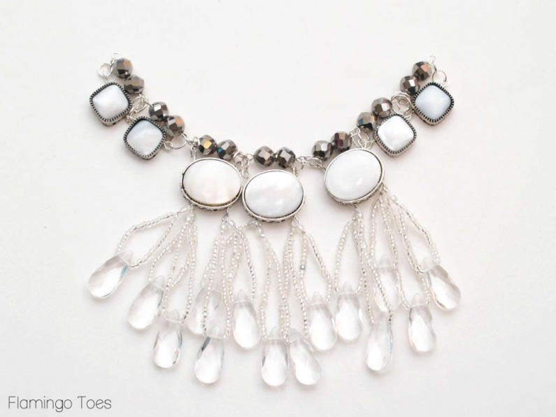 beading necklace tutorial