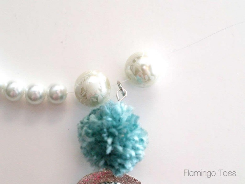 pearls and pom poms