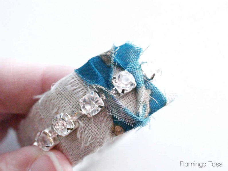 wrapped bracelet tutorial