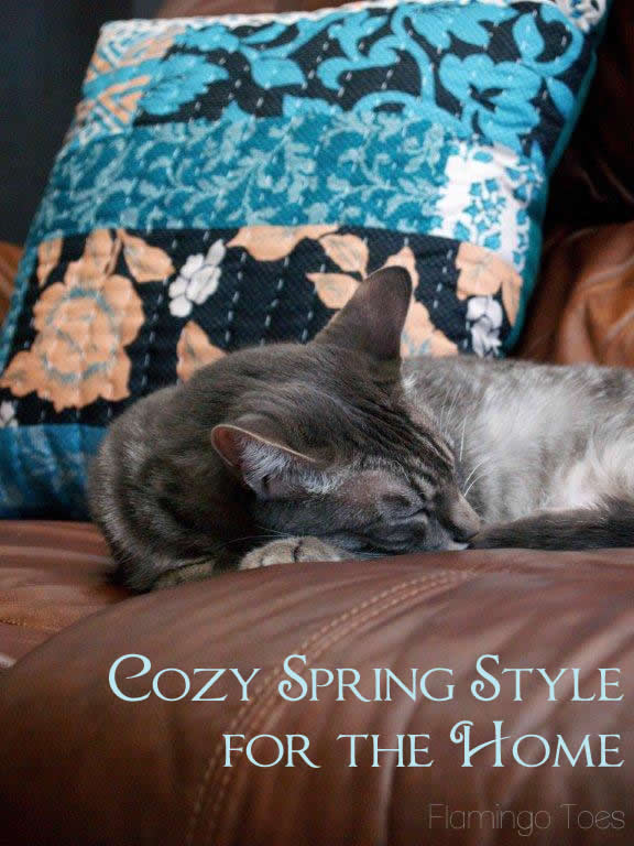 Cozy Spring Style for the Home