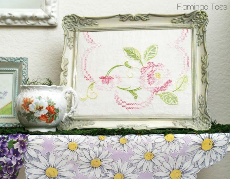Framed Table Runner