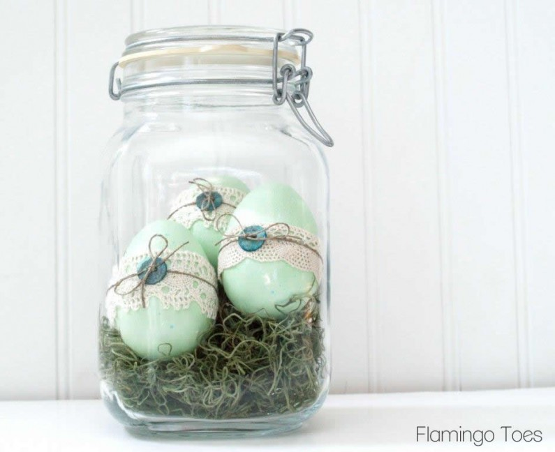 Mint Green Easter Eggs
