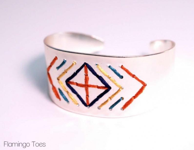 Sewing a Bracelet