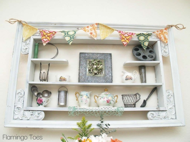 Spring Pennant and Display Shelf